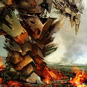 【2DCG】 JJ Abrams 映画『CLOVER FIELD』モンスターを予想したファンアート
